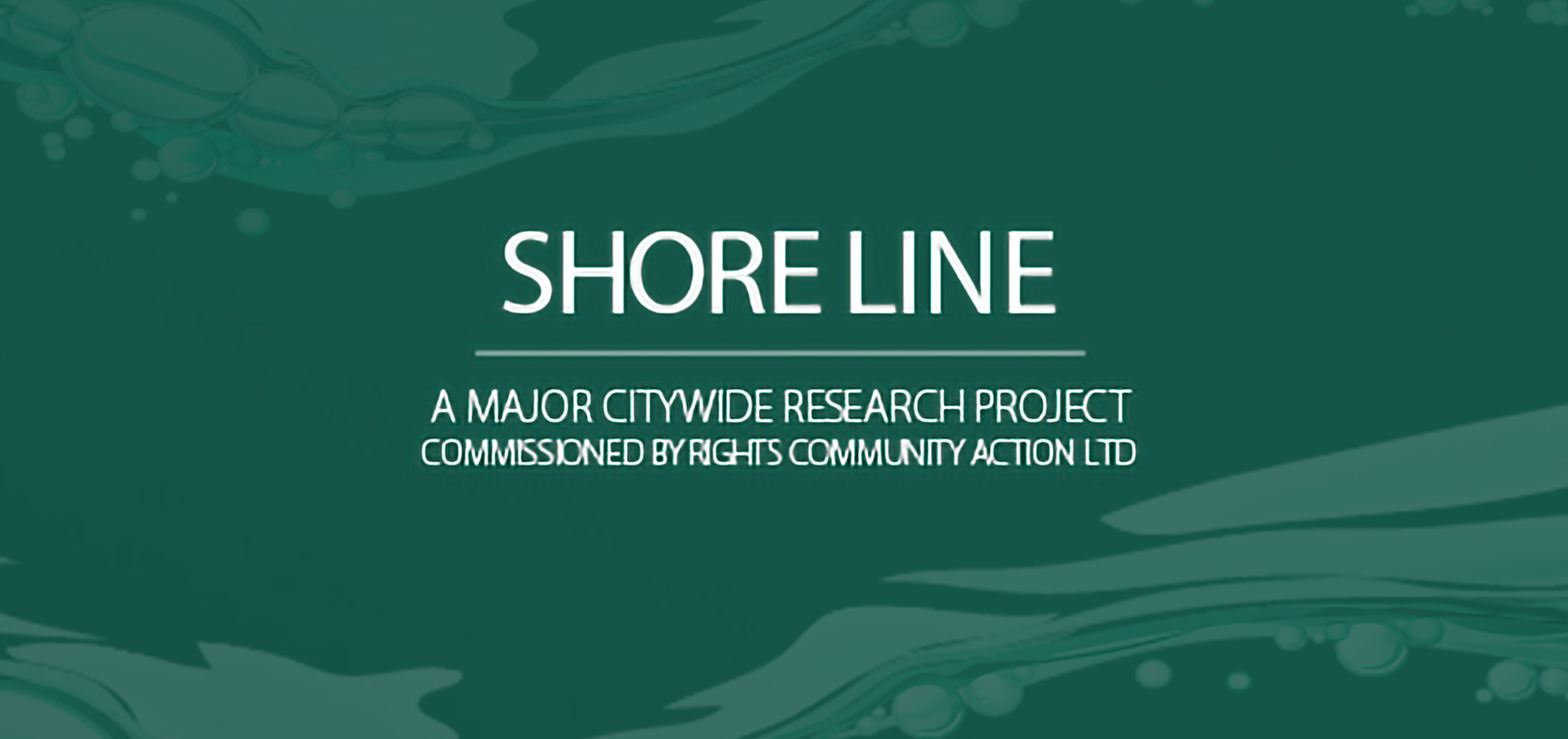Shoreline, A Major Citywide Research Project
