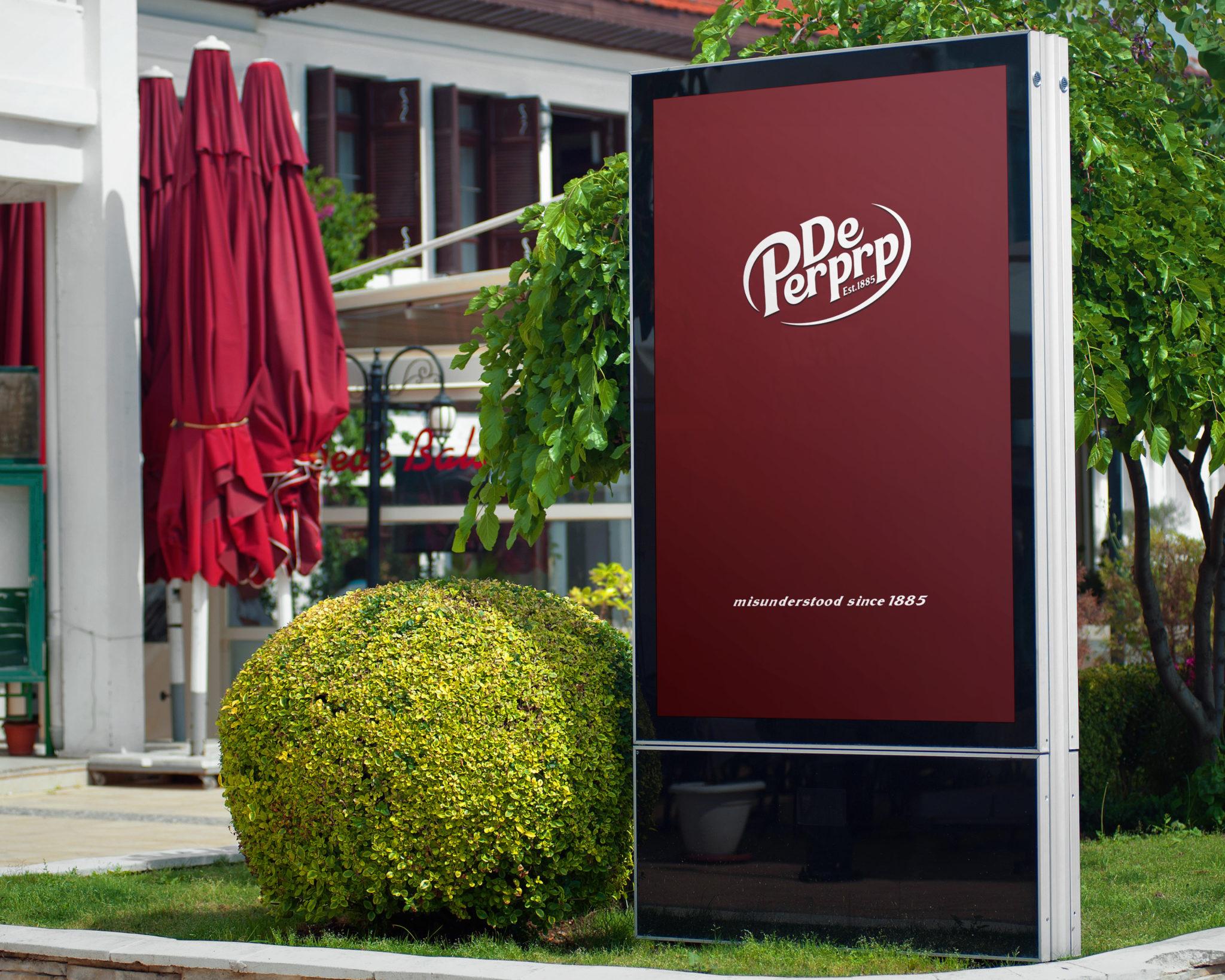 Dr Pepper - Misunderstood Since 1885 Advert