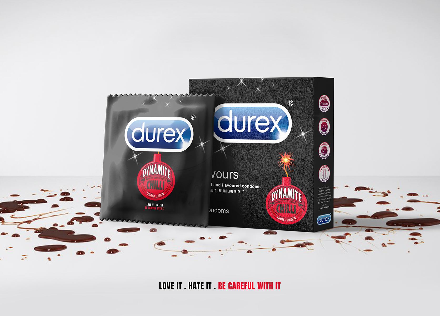 Marmite Dynamite Chilli Condom Advert