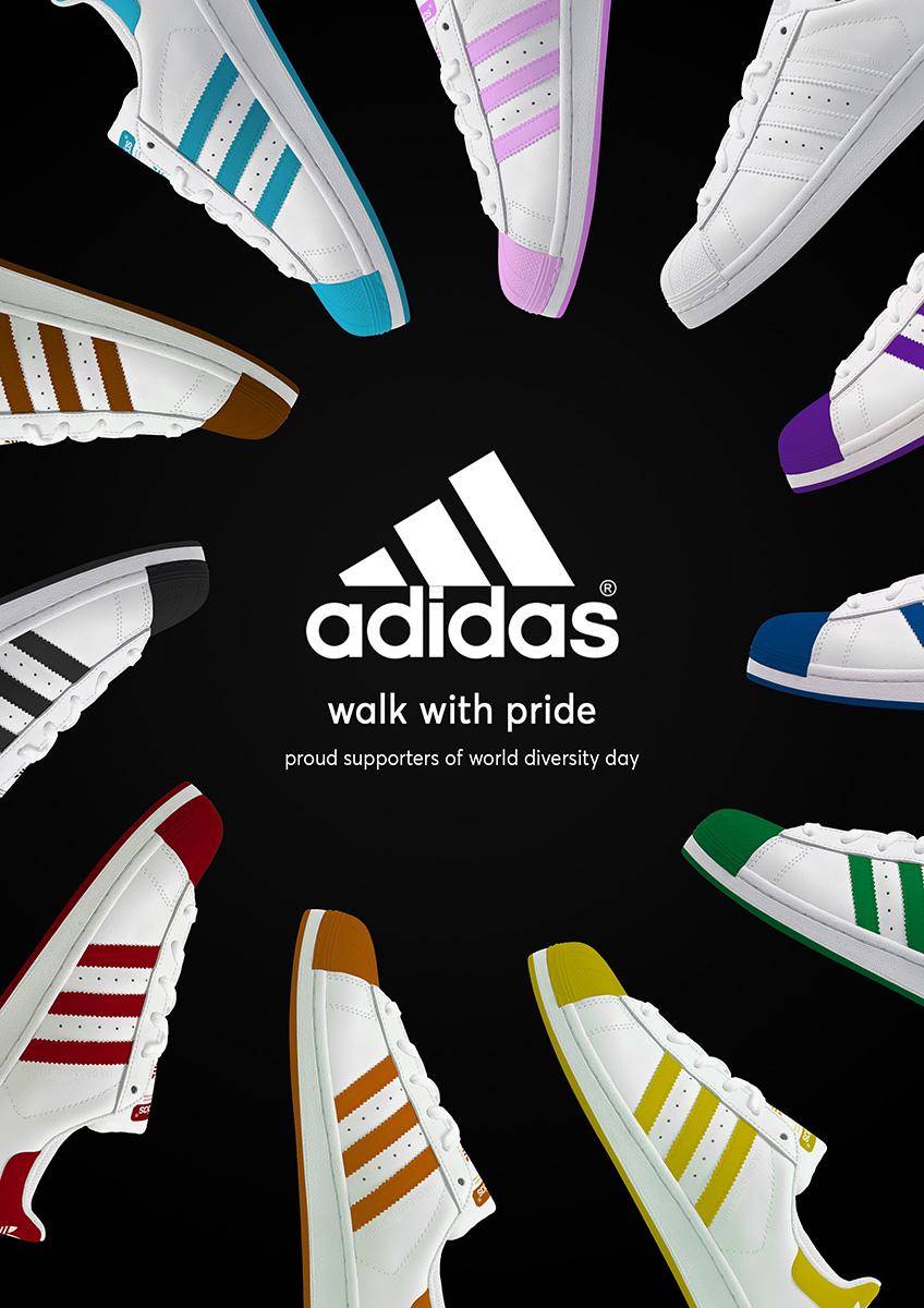 Adidas Walk With Pride