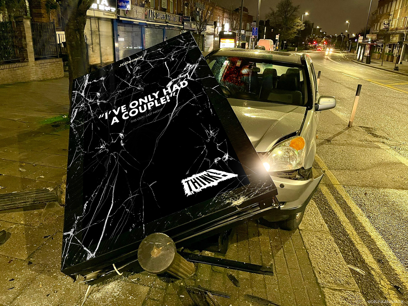 Don't Drink & Drive - THINK Road Safety Concept