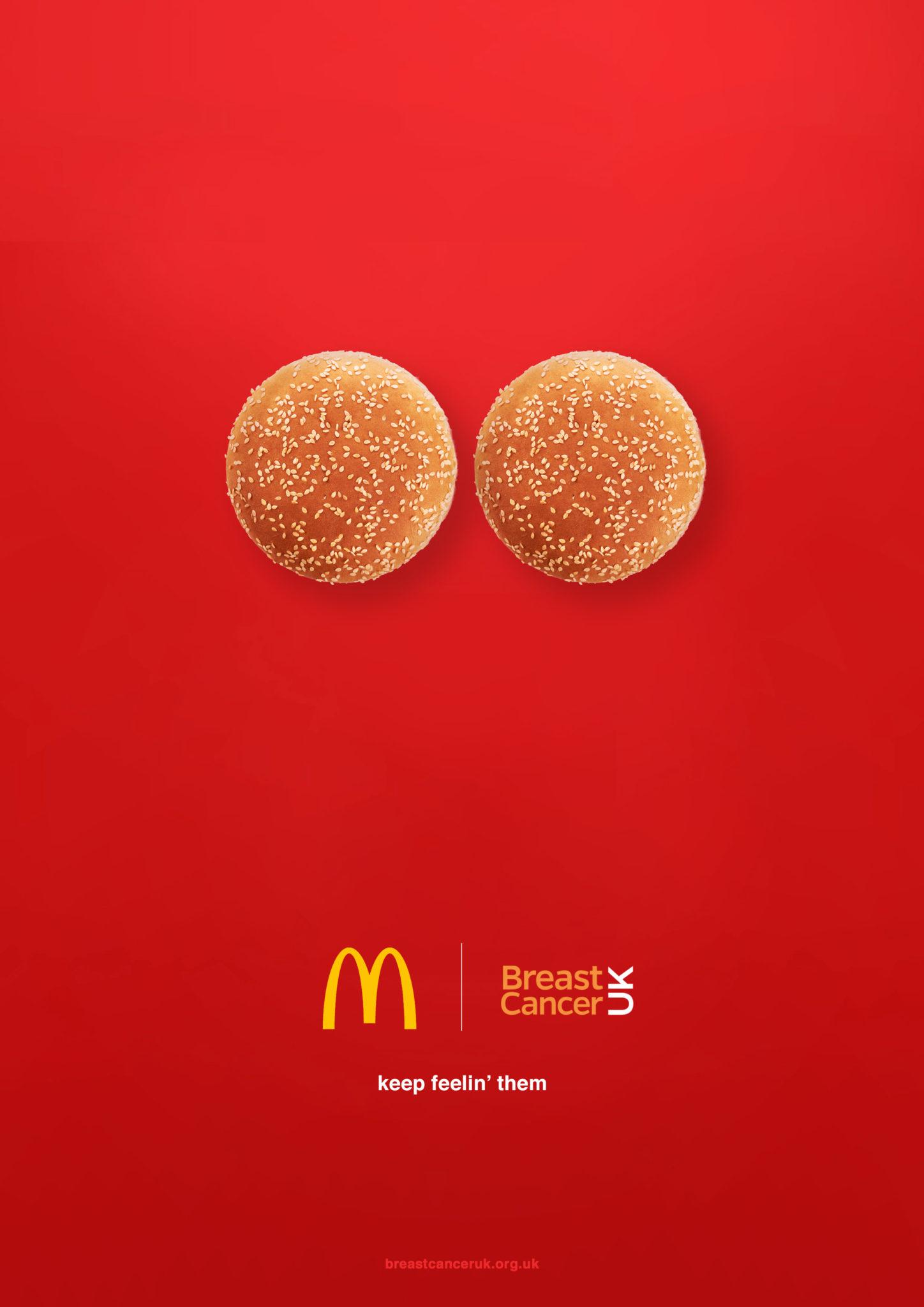 Mcdonalds Poster - breast Cancer awareness