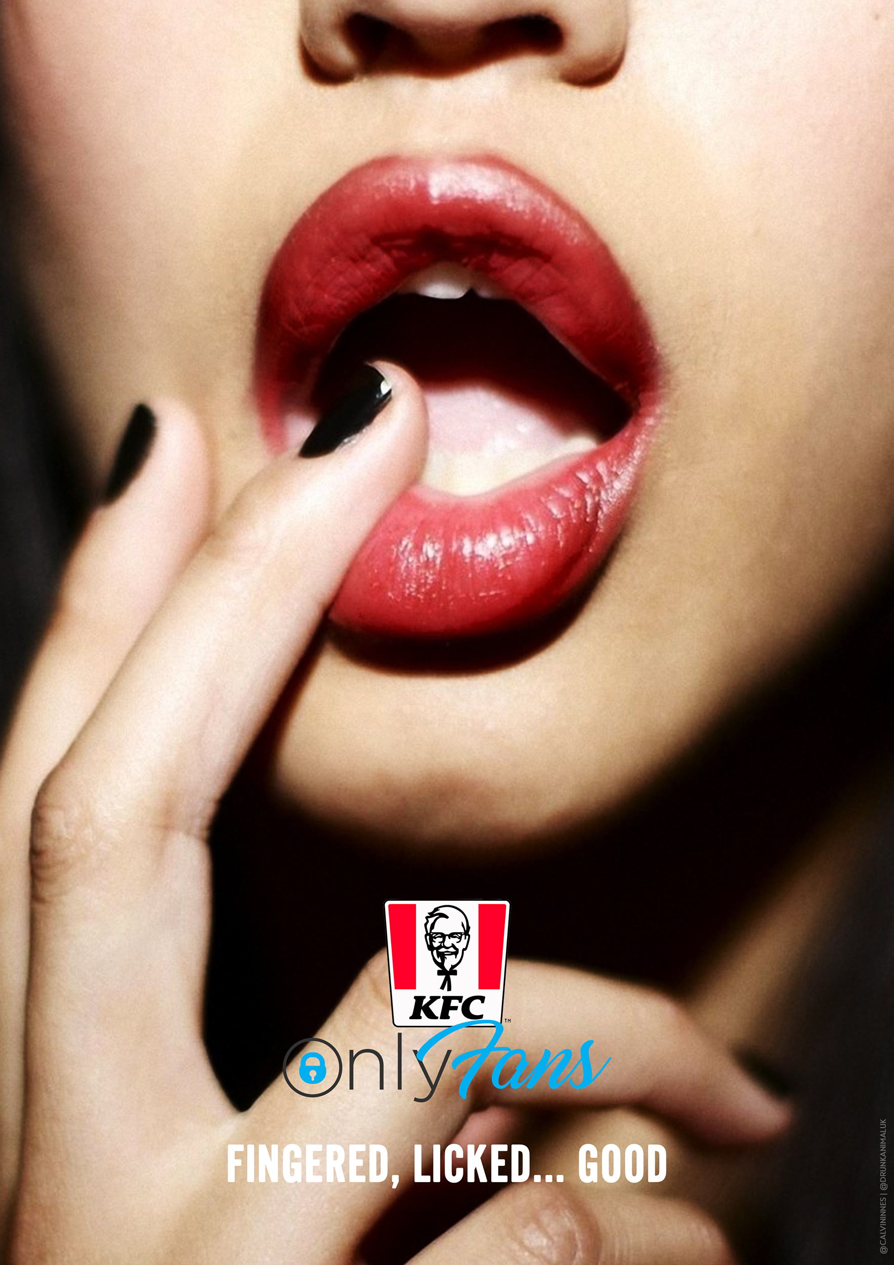 KFC OnlyFans advertisement